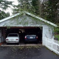 How to clean concrete garage floors ehow for How to clean garage concrete