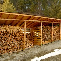 Designs to Build a Wood Shed to Store Firewood | eHow