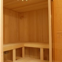 How to build your own sauna plans 4 steps ehow for Build your own sauna cheap