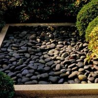 what to use as a weed barrier under stone ehow. Black Bedroom Furniture Sets. Home Design Ideas