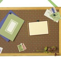 How To Hang A Bulletin Board Without Nails 6 Steps Ehow