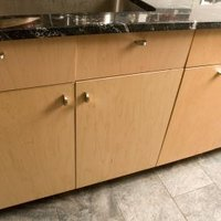 how to make a kitchen slab with a cabinet door ehow