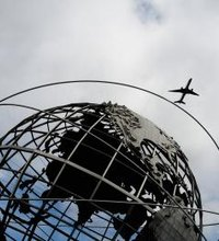 John F. Kennedy International Airport on Long Island and New Jersey's Newark Liberty Airport are two of New York City's three major air terminals. ...