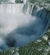 Niagara Falls, 20 miles north of Buffalo, New York, is one of the natural wonders of North America. The falls dump 750,000 gallons of water per ...
