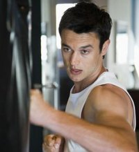 A punching bag is an effective piece of equipment for a boxer-in-training. However, punching bags are often expensive and don't always fit in ...
