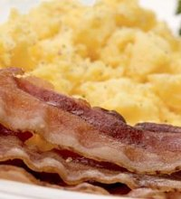Both bacon and turkey bacon fall under the category of protein foods, according to the U.S. Department of Agriculture. Your diet should include ...
