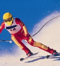 It is relatively easy to increase your skiing speed by dropping into a tuck and pointing your skis straight downhill on a steep slope. The difficult ...