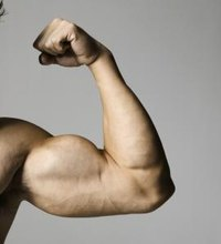 The inner side of the arm can be a difficult area to train -- focusing on exercises that target the large arm muscles that reside there can help you ...