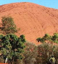 Located in Australia's rugged Outback, Ayers Rock, now known as Uluru, is the largest monolith on Earth. This giant red rock is more than 200 miles ...