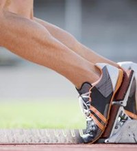 Two major muscles in your calf, the soleus and gastrocnemius, work together to push off the ground while running. The soleus lies underneath the ...