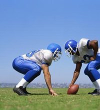 As an offensive lineman, you must protect the quarterback, block for the running backs and face off against the defensive line. If your team is going ...