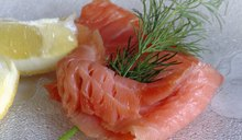 Nutrition Facts for Smoked Salmon