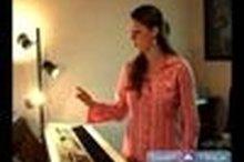 Vocal singing facial expression