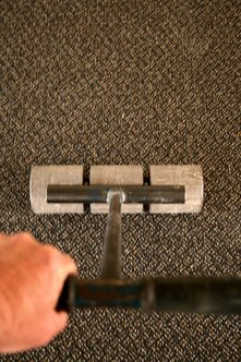 Carpet cleaners often specialize in deep cleaning, spot cleaning and deodorizing area rugs and wall-towall carpets.