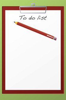A business startup checklist is your to-do list