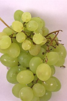 Grapes are healthy in moderation.