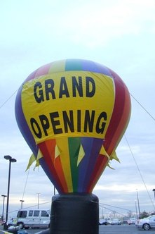 Grand opening events can jump-start word-of-mouth advertising.