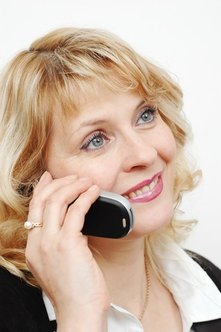 Client interaction for a resume writing business is often done by phone.