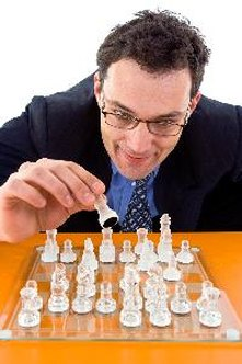 Organize lunchtime tournaments that use analytical skills.