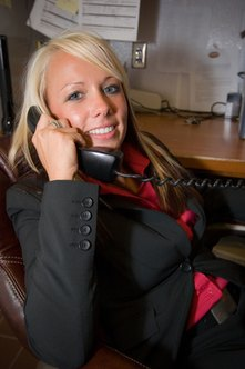 Collection agency staffers frequently work the phones for their clients.