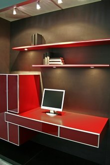 Desinate a space in your home as your office.