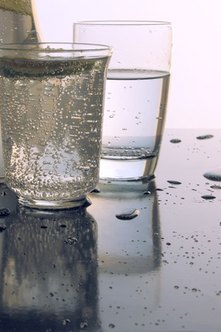 Try soda water instead of soda if you like the fizz, but not the calories.