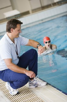 Swim teams and clubs often employ coaches.