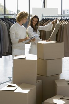 To run a successful retail clothing store, there are several duties that managers and owners must perform.
