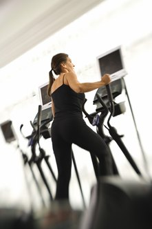 Ellipticals can benefit your abs, even though they don't target them.