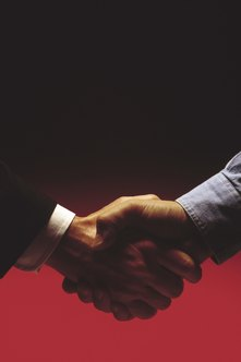 A global strategic partnership is a legal agreement between businesses.