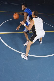 A spin move is an effective way to get away from the defense.