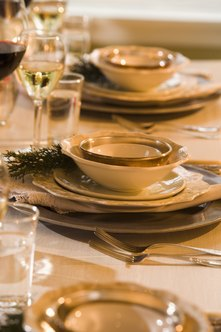 A marketing plan is the first step to a successful formal dinner event.