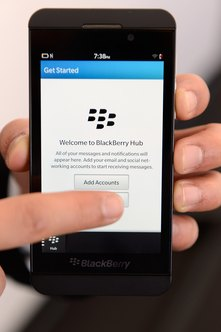 Personalize your browser on BlackBerry 10.