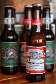 A portion of Anheuser-Busch's beer profits go toward helping local communities.