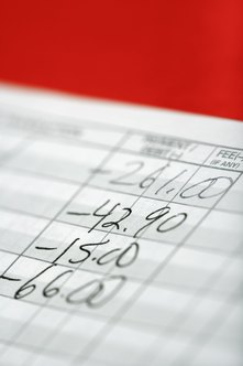 Your general ledger entries provide data needed to calculate accounts receivable.