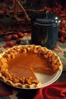 In the United States, it's just not Thanksgiving without pumpkin pie.