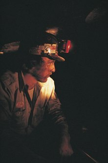 Coal miners must be able to work in confined spaces.