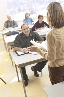 Classroom training can help employees learn many new concepts.