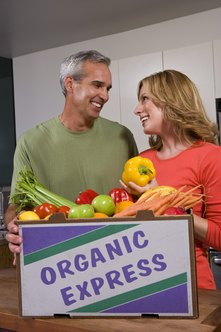 Offering organic meals ready-to-eat can be an option for food delivery services.