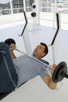 The bench press shouldn't be your only exercise routine if you want to lose weight.