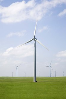 Wind turbine technicians can earn upward of $52,000 a year.