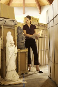 Curators are responsible for the safety and proper presentation of historical objects under their care.