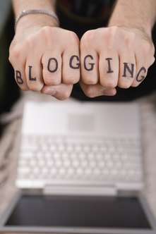 Serious bloggers use domain names to help people find their site more easily.