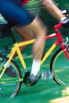 Your glutes and legs provide most of the power in cycling.