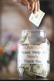 Donations to many non-profit organizations are tax-free.
