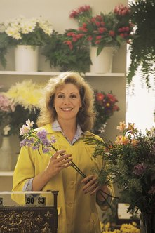 Many floral designers enjoy their work but experience stressful conditions at times.