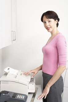Virtual fax services can send to traditional fax machines.
