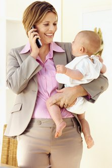 Moms returning to work should seek jobs that provide a good work-life balance.