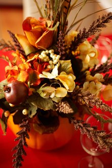 Centerpieces can be used for holidays and large events.