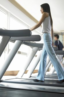 Walking burns calories at a slower rate than running.